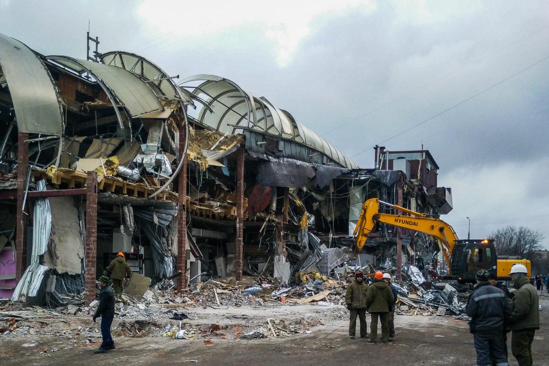 Демонтаж торговых центров в москве