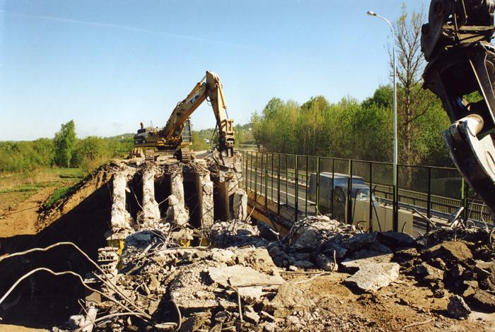 Демонтаж мостов и путепроводов