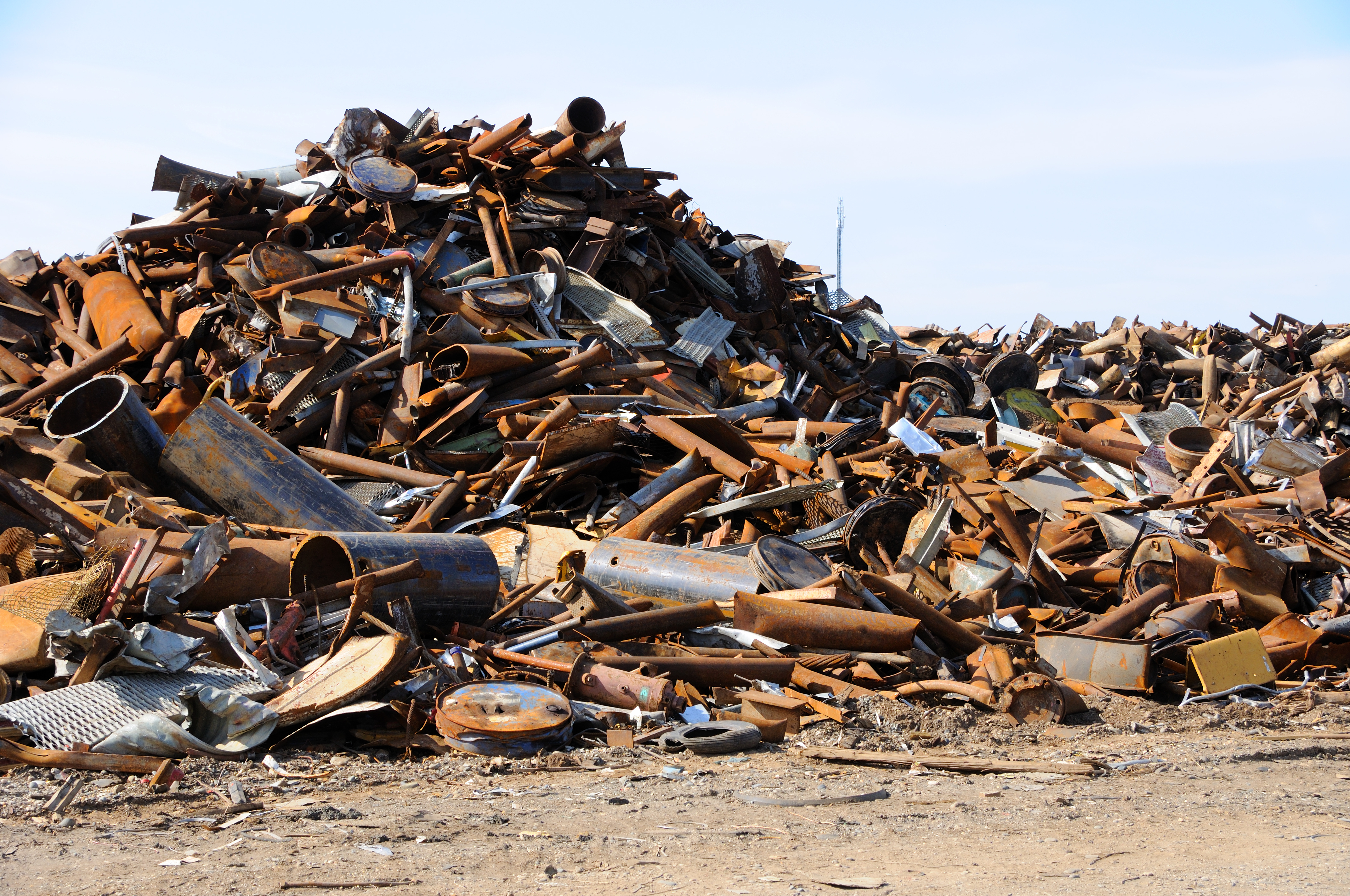 Демонтаж металоллома